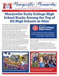 October Marysville Monarchs Monthly Cover