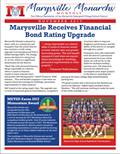 Marysville Monarchs Monthly November 2017 Cover