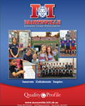 Cover of Marysville Schools Quality Profile