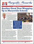 Cover of May 2017 newsletter