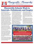 Cover of Marysville Monarchs September 2017 Newsletter