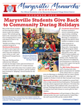 December 2018 Cover of the Marysville Monarchs Monthly