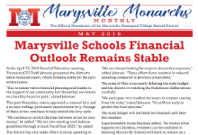 Marysville Monarchs Monthly May 2019 Cover
