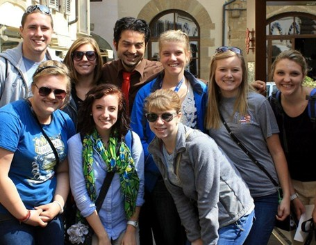 MHS students in Italy 2012