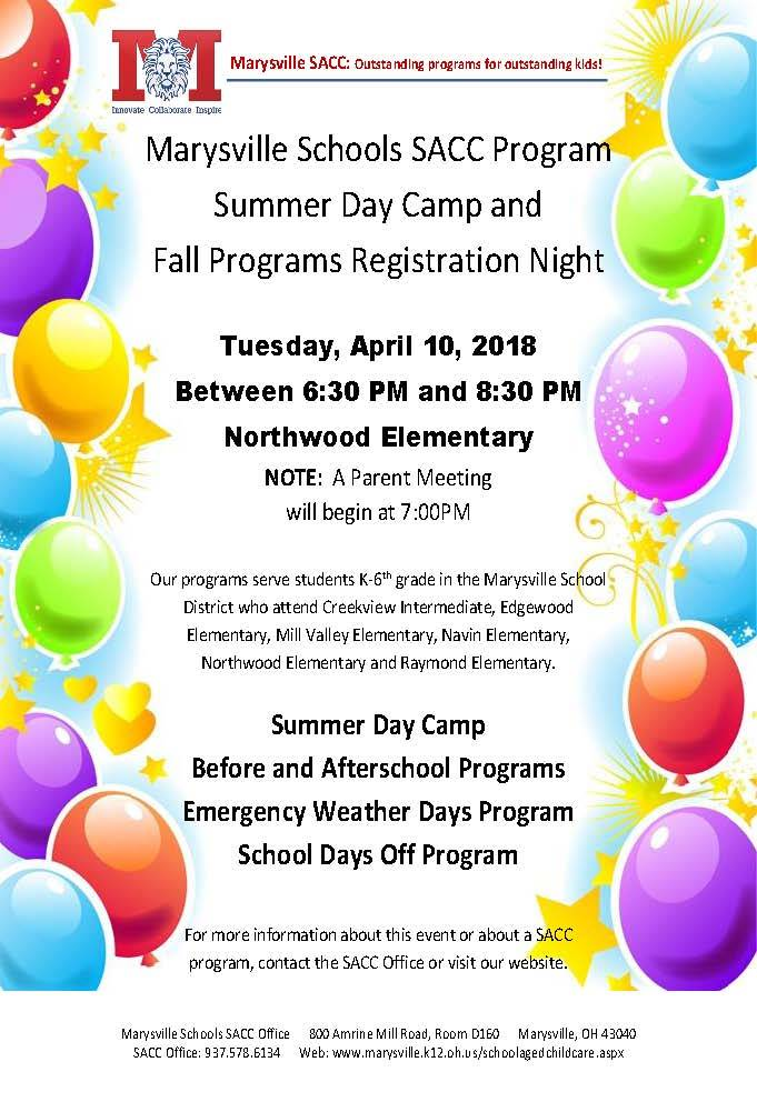 SACC Summer Day Camp
