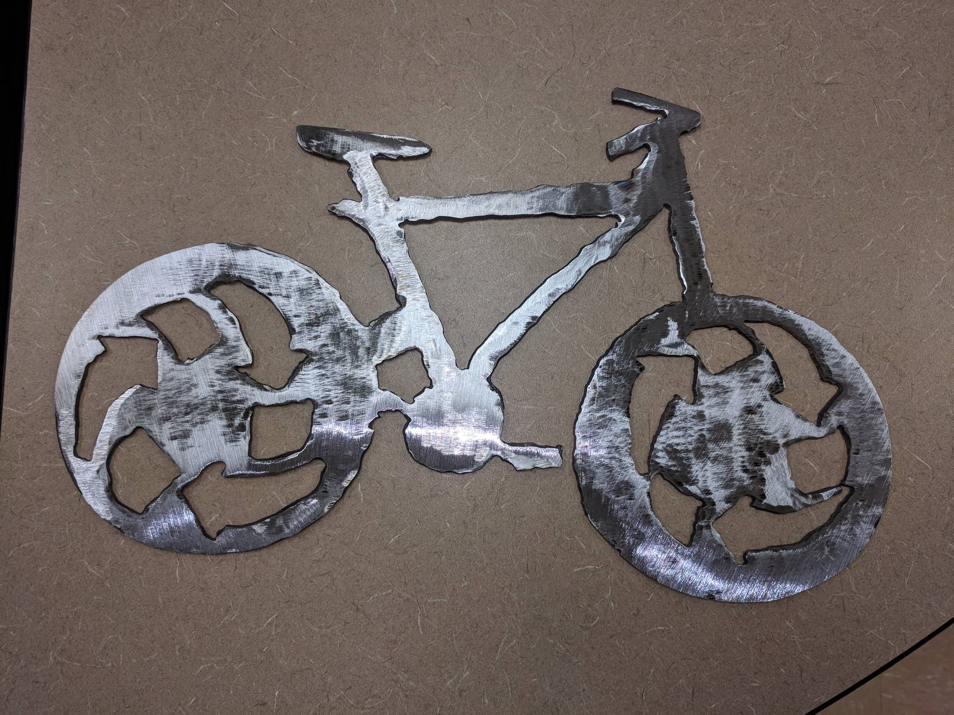Student created Moving Gears Bike Shop Logo