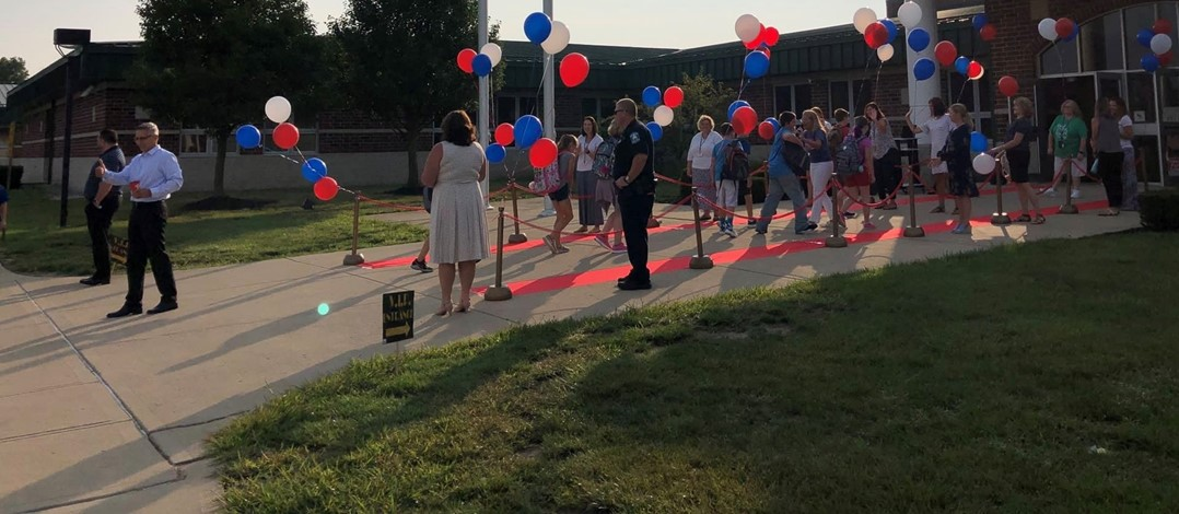 Creekview red carpet