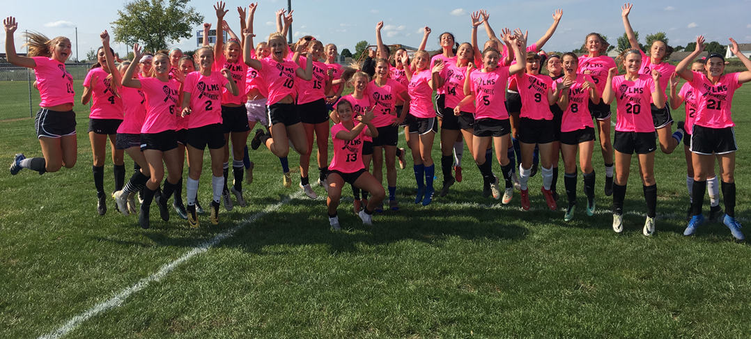 Soccer Kick for a Cure