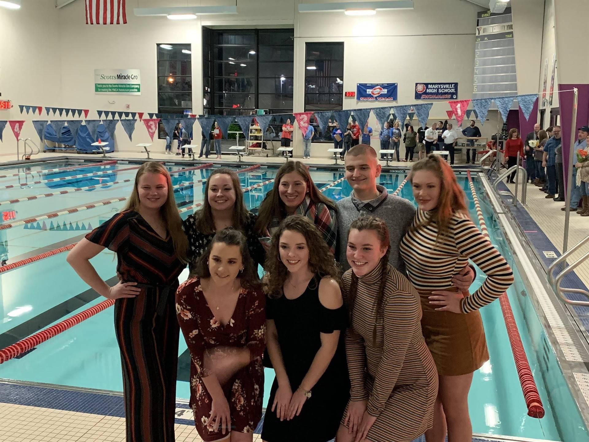 PTBM Swimmers
