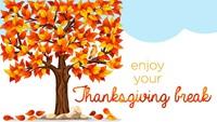Thanksgiving Break Greeting clipart