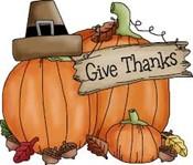 Thanksgiving Break Clipart