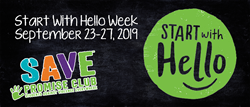 Start with Hello Week logo